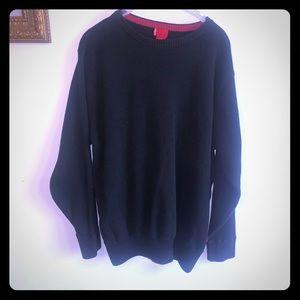 3/$15!! Black Levi's crew cut black sweater
